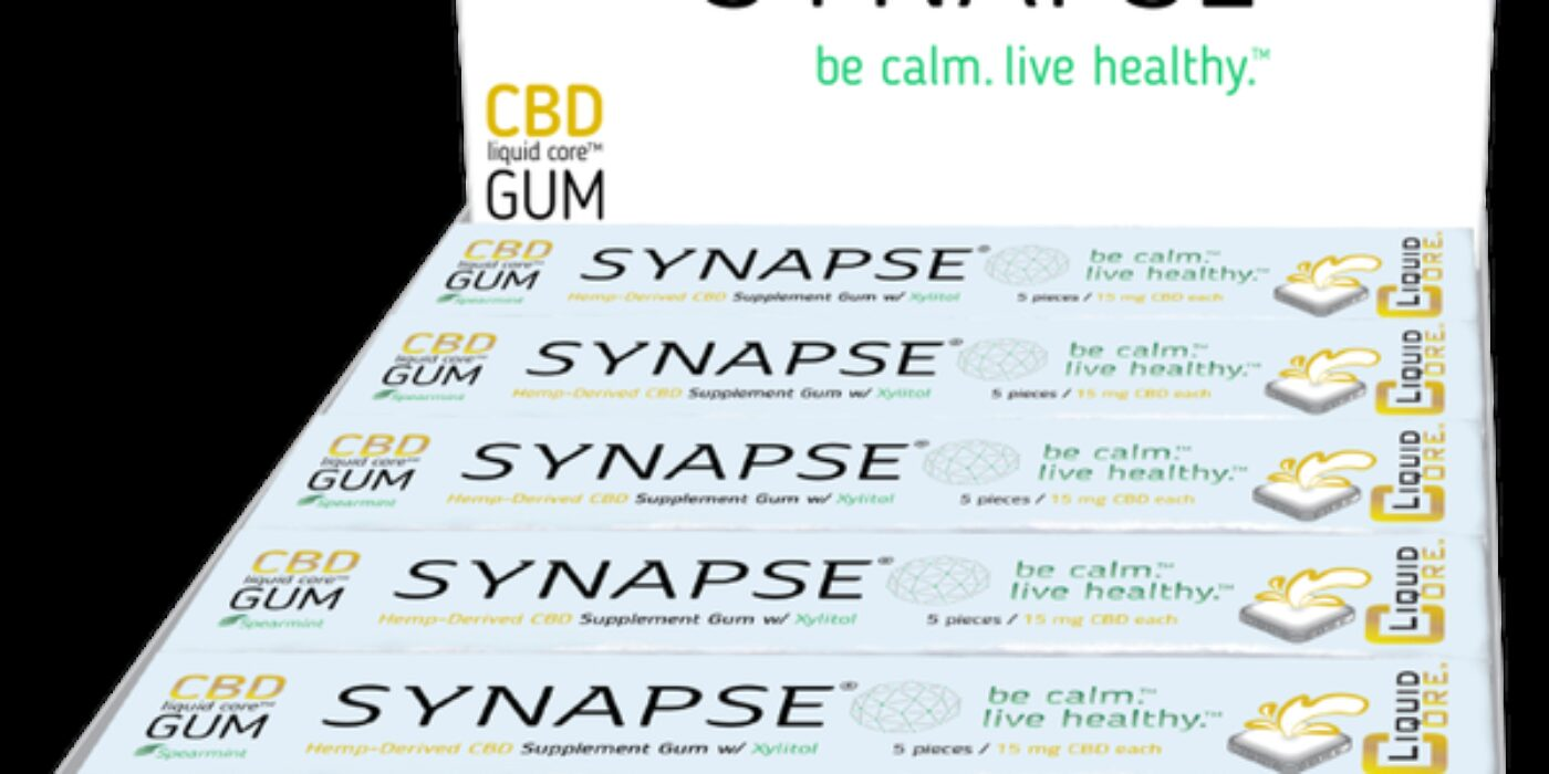 Synapse's CBD-Infused 'Functional Gum' Joins Burgeoning Market