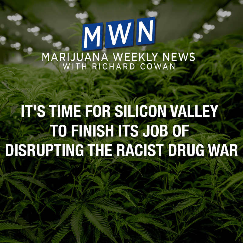 It's Time for Silicon Valley To Finish Its Job of Disrupting the Racist Drug War