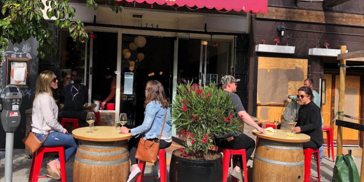 Anonymous donor to pick up tab for Polk Street businesses' outdoor barricades